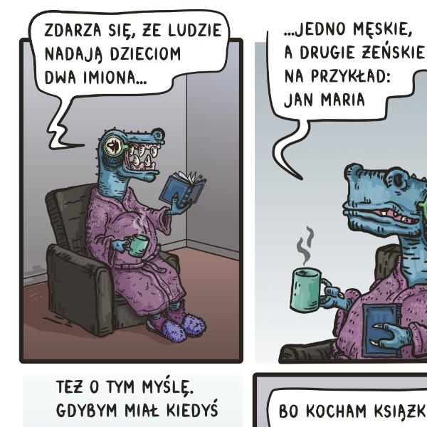 Tyranozaur Maciek